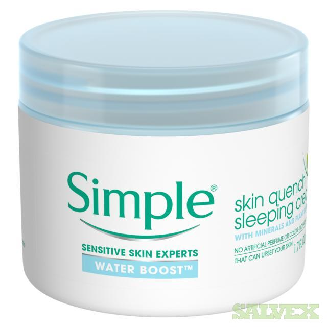 Simple Brand Skin Care Moisturizers (300 units)