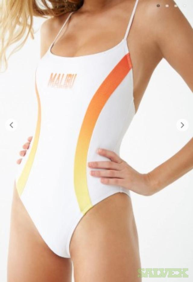 Womens Active Graphic Swimsuit  (3966 pcs in 79 cartons.) in Ontario
