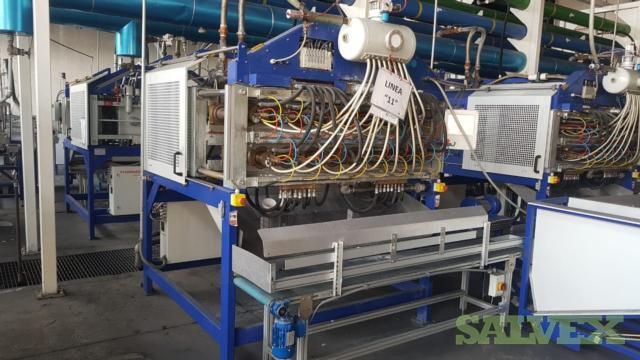 Thermoware Plastic Tray and Cup Complete Manufacturing Line