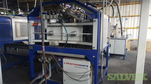 Thermoware Plastic Tray and Cup Manufacturing Lines