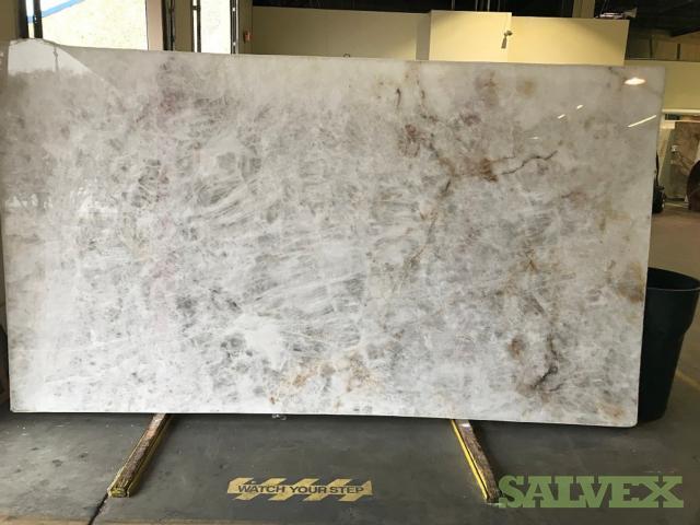 Brazilian Quartzite Slabs (6 Slabs 10 ft Long x 6 ft Wide)