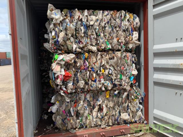 Removal of Crushed Plastic-  9 x 40 Ft Containers