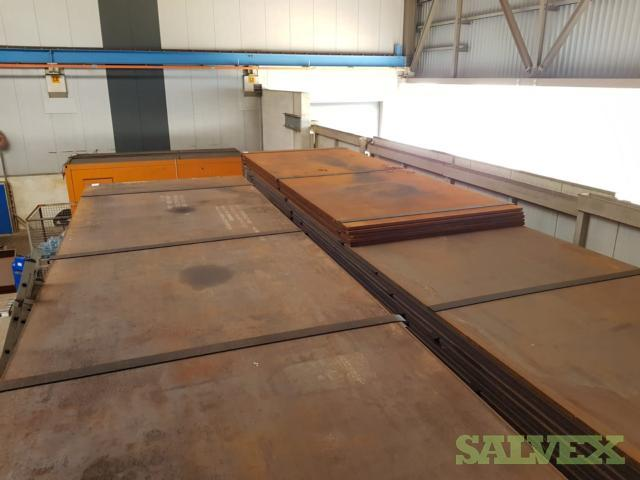 Steel Plate (38.1mm WT x 2438mm H x 10000 L) (252 MT)