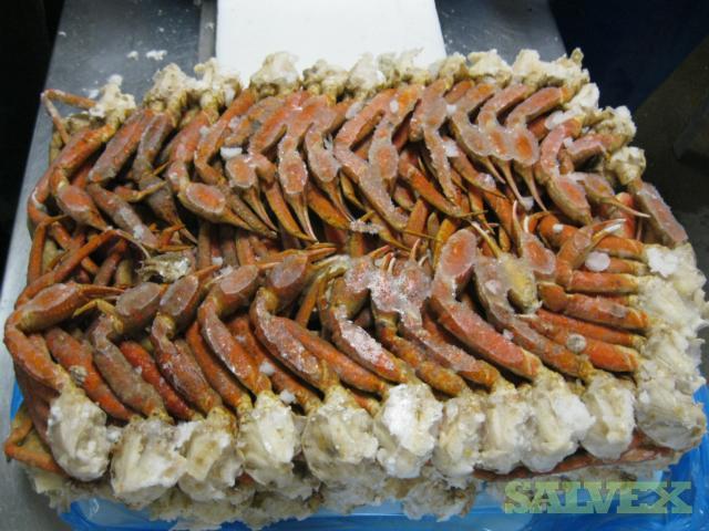 Snow Crab 5-8 oz Size- Dark (158,084 Lbs)
