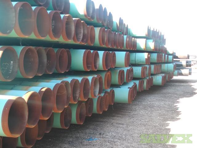 24 94.71# 0.375WT  X65 FBE Line Pipe (5520 Feet / 239 Metric Tons)