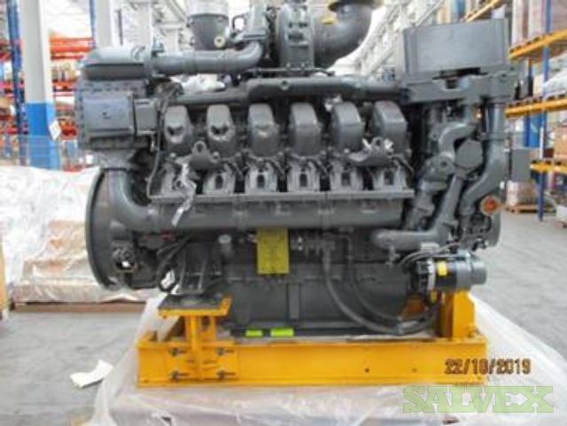 MTU 12V4000C13L Twelve Cylinder Diesel Engine - INSURANCE CLAIM (1 Unit)