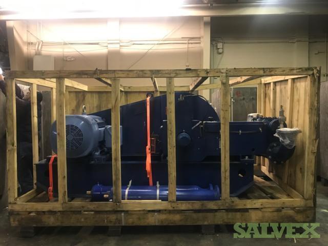 Novomet Triplex 165 5S-NVT Pump w/150HP Triton Motor (2 Units)