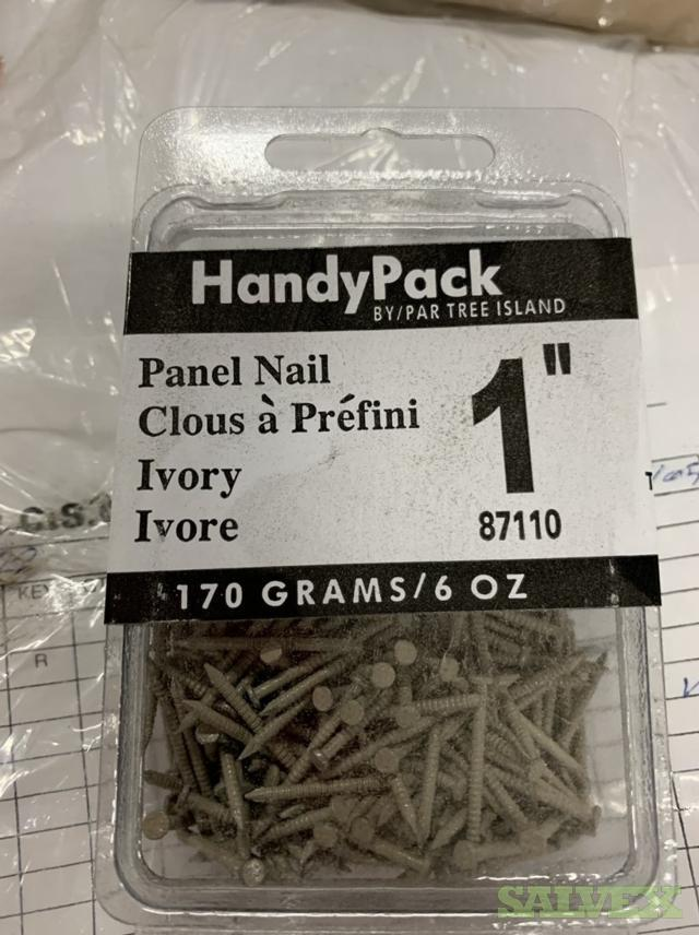 Panel Nails by Tree Island  / Pre Packaged 170 g/ 6 oz Retail Packs (38,135 Packs) in Ontario, Canada