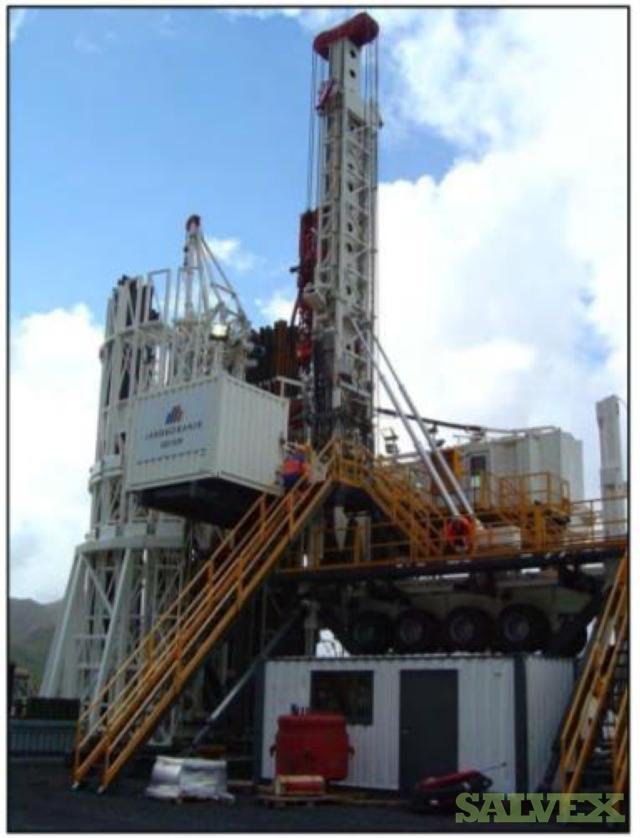 Geysir Drillmec Drilling Rig HH200S Trailer Mounted Rig (1 Unit/ 200 Metric Tons)