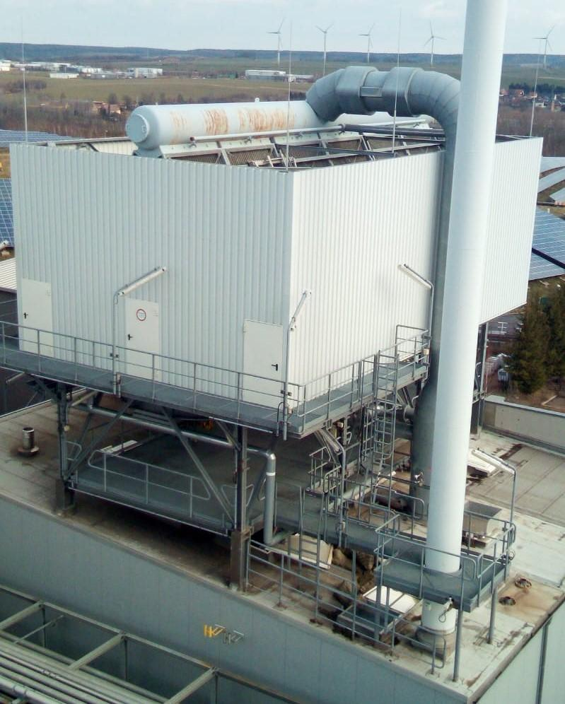 Hamworthy Air Cooled Condensation Plant / Cooling Tower - NEW