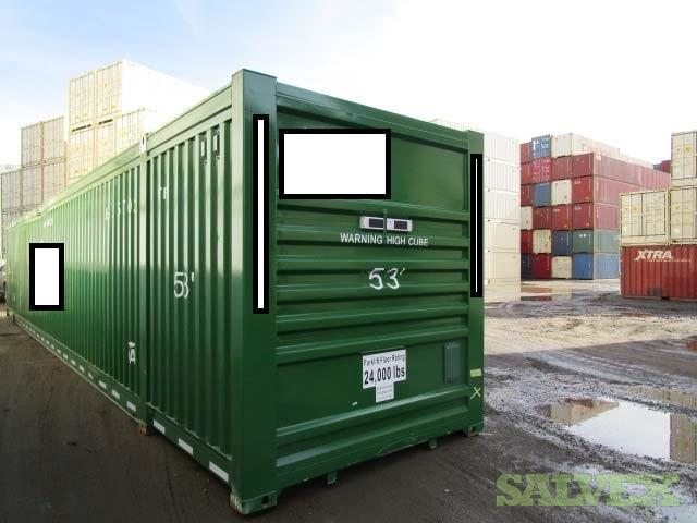 53 Ft. High Cube Container