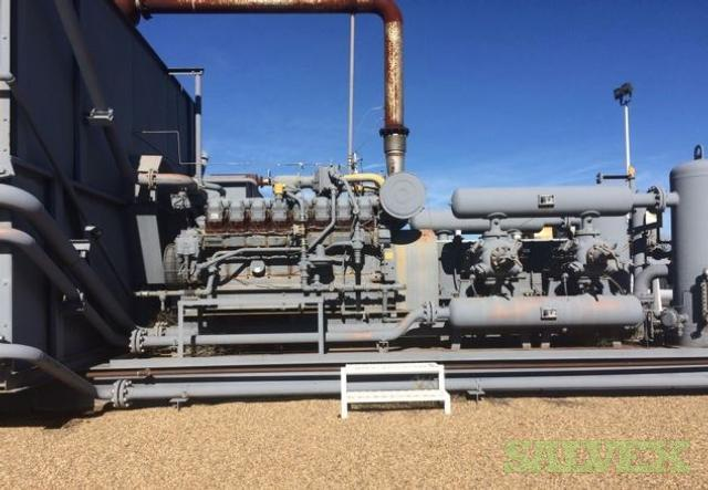 Caterpillar G3516 Engines with Compression Skid (2 Units)