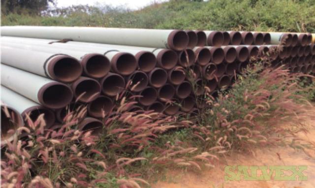 8 0.500WT Grade B FBE SMLS Surplus Line Pipe (5,709 Feet / 112 Metric Tons)