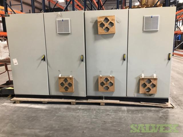 Solid State Motor Control Panels with VFDs - 8 Unit