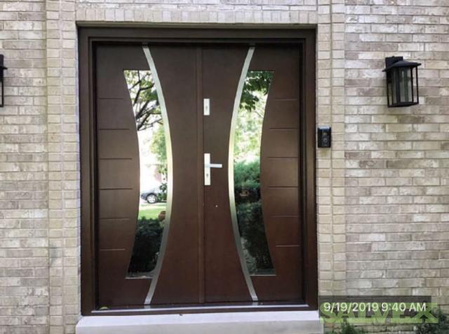 Pine Wood Home Front Twin Door