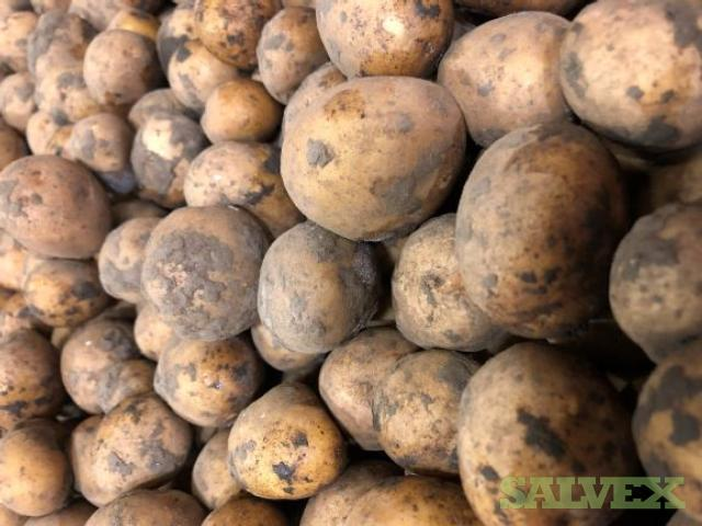 Organic Frozen Potatoes (22 tons)