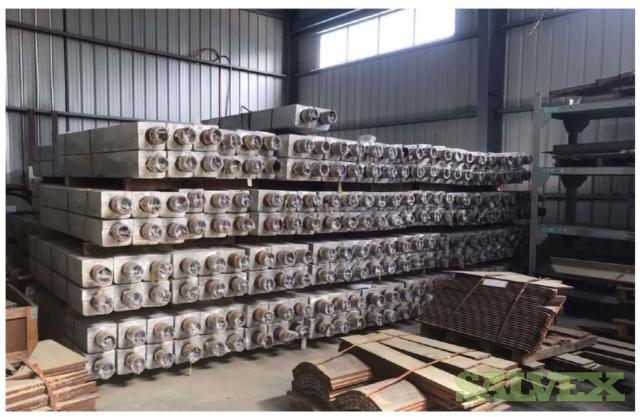 Aluminum Hull Anodes (858 Pieces)