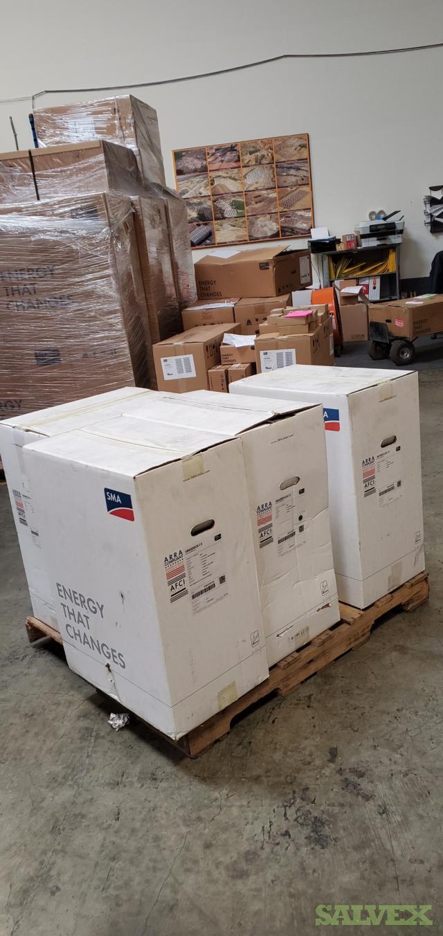 240W SMA Micro Inverters, DC MC4 Cables, AC Cables