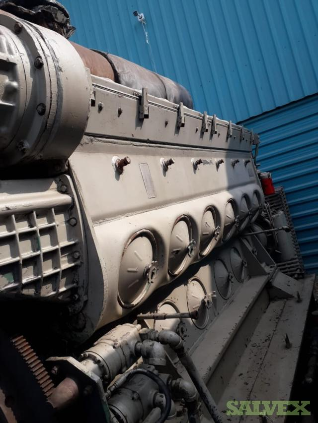 EMD 12 645 E8 Blower Engine