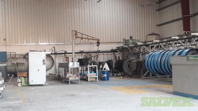 Marangoni Brand Tire Retreading Machinery (1 Plant)
