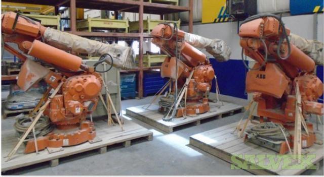 ABB 6400RF Manipulator Robot Arms (3 Units)
