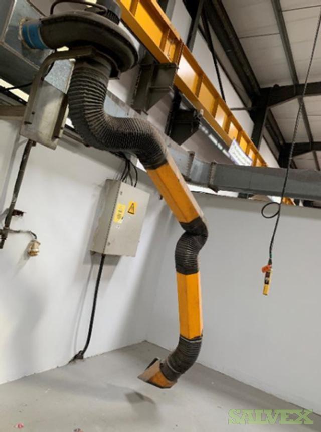 Euromate Ultraflex Welding Extractors (4 Pieces)