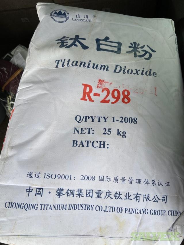 Titanium Dioxide R-298 25 kg. bags (325)