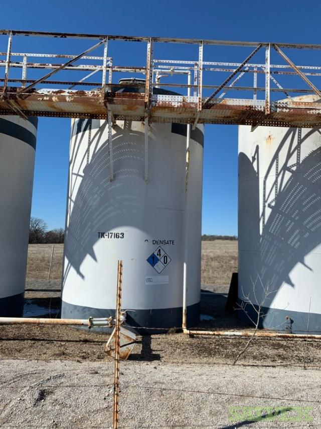 Oil and Water Tanks 210-300bbls, VRU and GPU