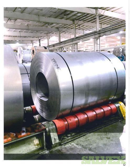 Strip Hot-Dip Galvanized Coil / HD09001 CR4 GI 50/50G-E .75 Gauge 1735 Width (33,740 Lbs) in Alabama