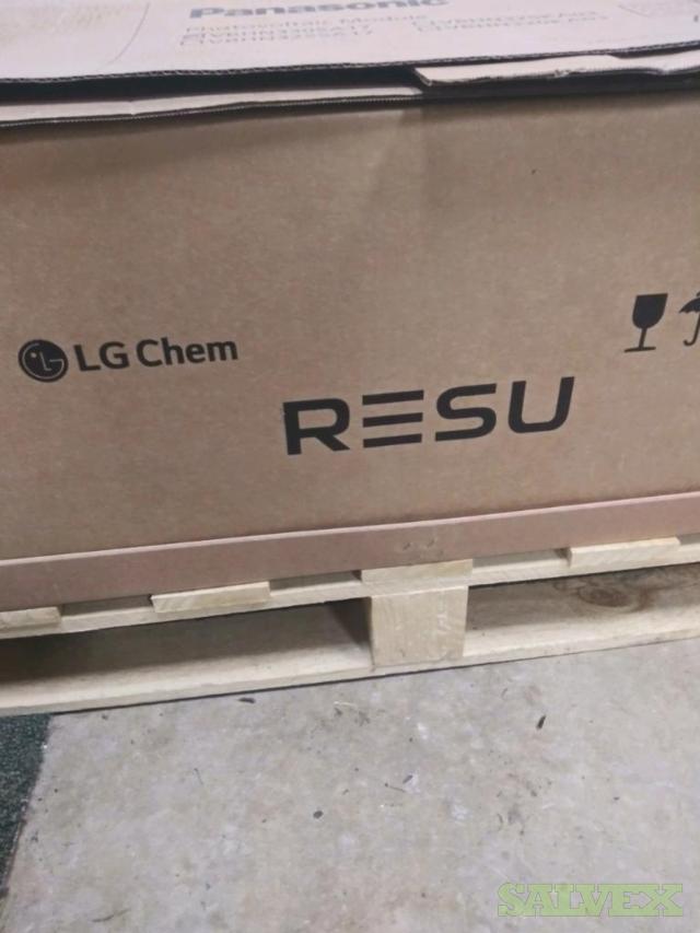LG 9.8kWh 63 Ah 400V Lithium Ion Battery (2 Units)