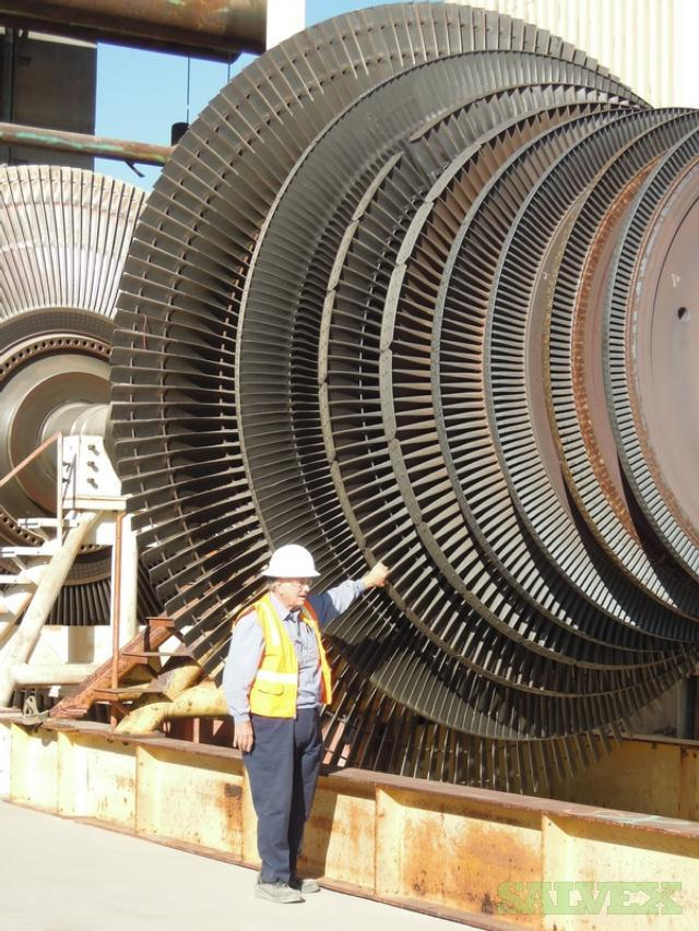 GE Steam Turbine Generators 755 MW Cross Compound-Turbines Upgraded to 785 MW