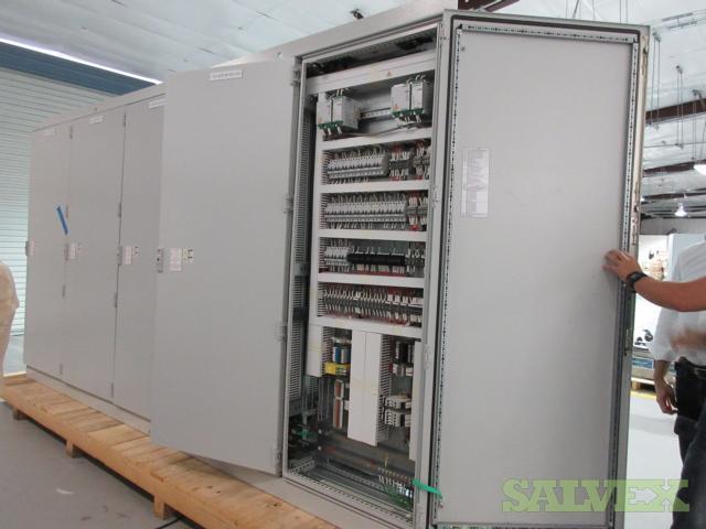 Cracker Project Unit Control Panels