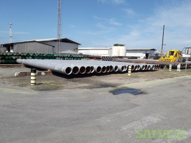 22 1.000WT X80 Surplus Line Pipe (1,665 Feet / 170 Metric Tons)