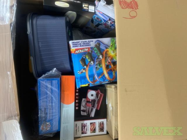 1 Mixed Pallet of Home Trainer, Bath Furniture, Toys and more..