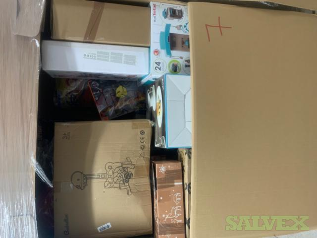 1 Mixed Pallet of Returned Items- Toys, Fixture and Consumer Goods
