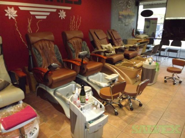 Pedicure Chairs (6 units) in Texas