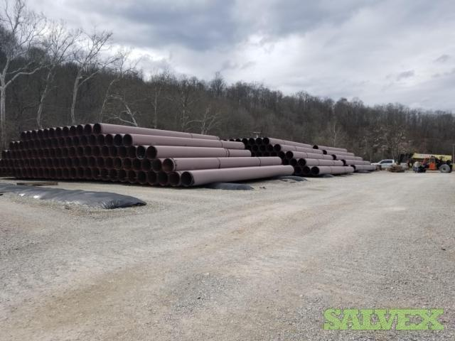 30 .625WT X70 ARO Surplus Line Pipe (12,845 Feet / 1,144 Metric Tons)