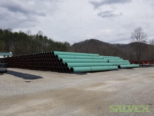 30 .562WT X70 FBE DSAW Surplus Line Pipe (16,605 Feet / 1,332 Metric Tons)