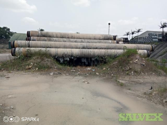 24 186.65# X65 PSL2 Surplus Line Pipe (6,654 Feet / 563 Metric Tons )