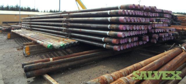 5 7/8 23.40# S-135 VAM CDS Surplus Drill Pipe (10,040 Feet / 107 Metric Tons)