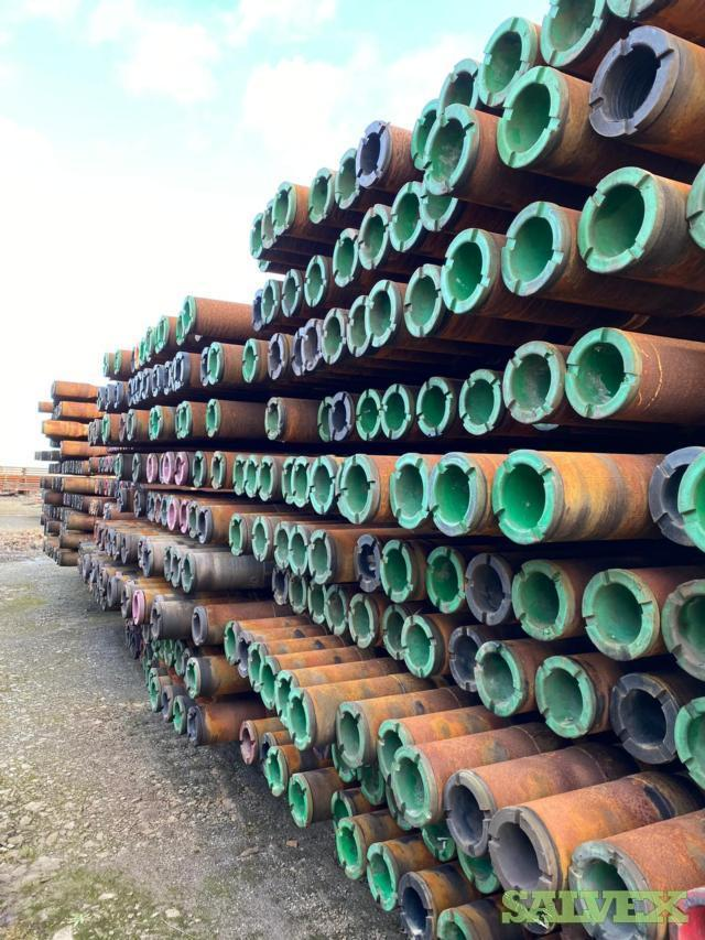 5 7/8 23.40# S-135 FH DSTJ Used Drill Pipe (19,140 Feet / 203 Metric Tons)