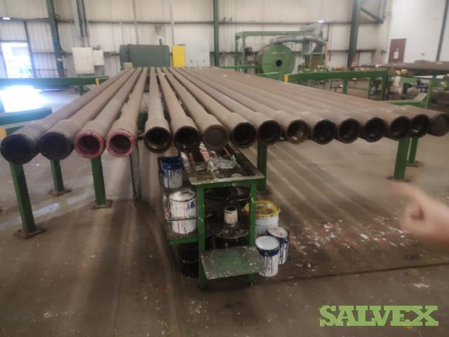 5 1/2 24.70# S-135 HT55 Surplus Drill Pipe (4,110 Feet / 46 Metric Tons)