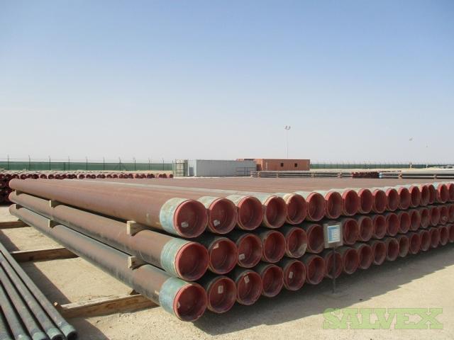 13 3/8 54.50# K55 BTC SMLS R2 Surplus Casing (2,550 Feet / 63 Metric Tons)