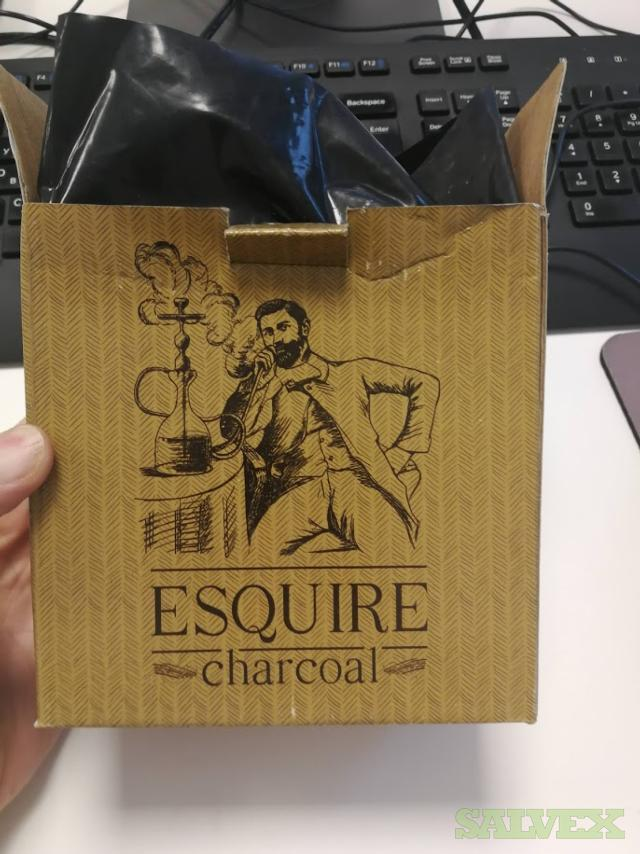 Esquire Brand Pressed Coconut Charcoal for Hookah - Abandoned Cargo (16,344 Kg)