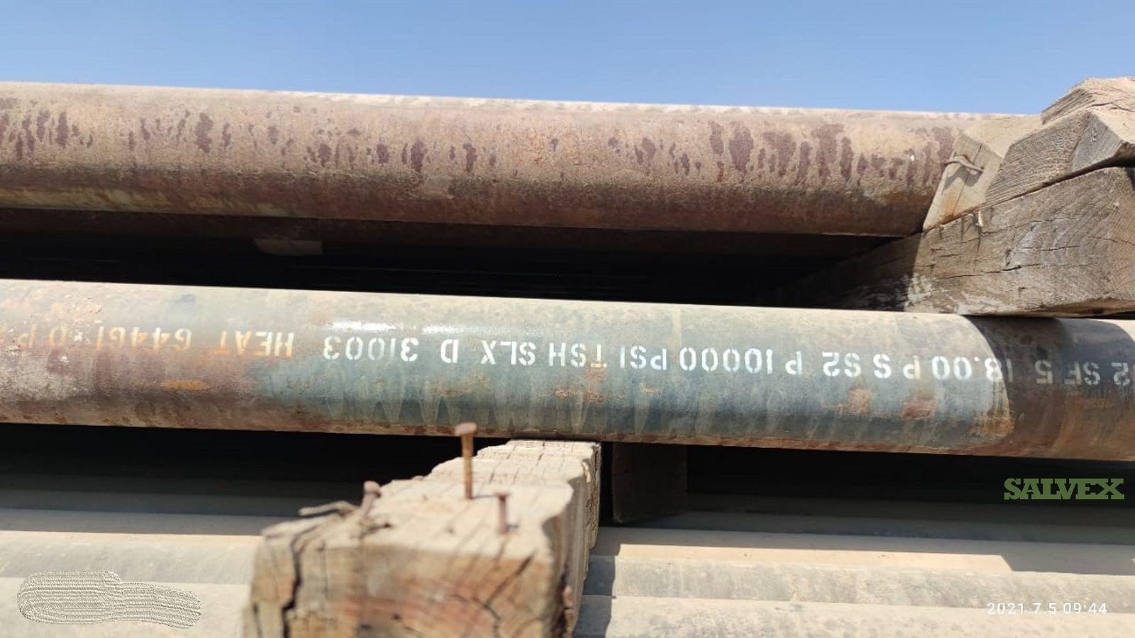 5 21.40# P110 TSH SLX R3 Surplus Casing (1,440 Feet / 14 Metric Tons)