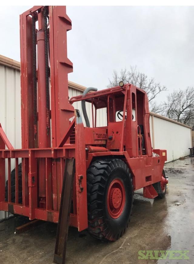 Taylor Rough Terrain Forklift / 25K Capacity