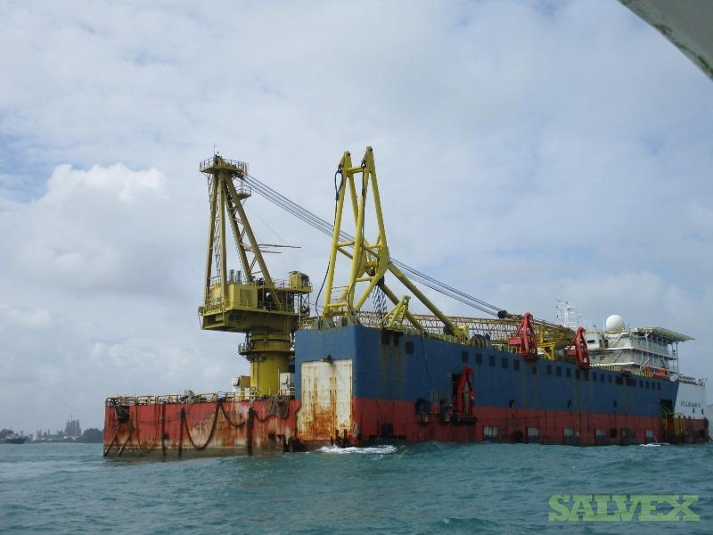 Accommodation Pipe Laying  Barge