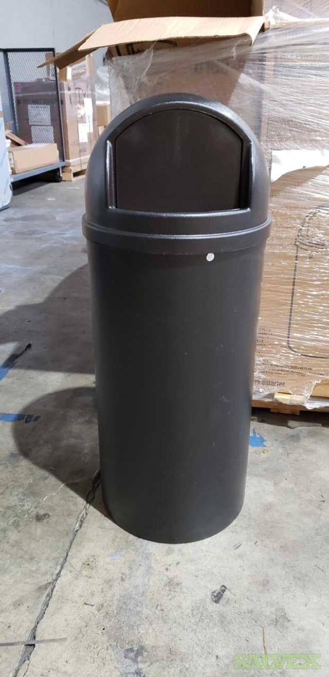 Rubbermaid Trash Cans (20), wastebaskets (40) / Delta dust collectors (2)