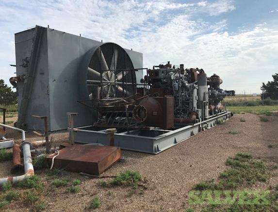 Waukesha & Caterpillar Compressors - 4 Units