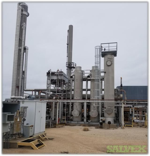 Gas Plant with Associated Compression & Refrigeration (20 MMCFD Capacity)